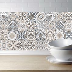 Arabic Retro Tile Stickers For Kitchen Bathroom PVC Self Adhesive Wall Stickers Living Room DIY Decor Wallpaper Waterproof Decal. If You get more ideas click picture . Kitchen Wall Stickers, Cheap Wall Stickers, Wall Stickers Home Decor, Window Stickers, Kids Room Wall Decals, Vinyl Wall Decals, Totoro, Self Adhesive Backsplash, Family Dining Rooms