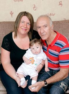Patrick Sloan of Doncaster who has become a father, grandfather and great grandfather all in the space of 3 months