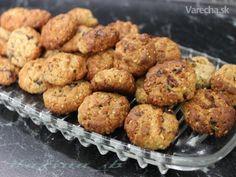 Arašidovo-ovsené cookies s brusnicami (fotorecept)
