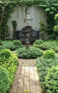 Armillary in the garden, A-a-a-a-h-h-h!