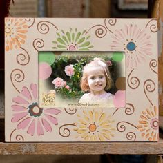 "Glory Haus ""Daisy"" Multi-colored Picture Frame"