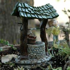 Fairy Homes & Gardens | Birdbaths & Fishponds