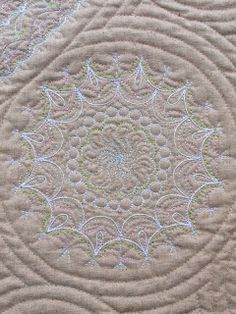 Sampaguita Quilts: Linen & Lace, close up photo