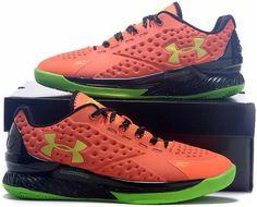 Under Armour Ua Curry 1 One Low Volt Orange Women Shoes1