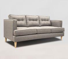El sofa Zapata ya en 3 cuerpos en: http://www.gaiadesign.com.mx/sofa-zapata-3-cuerpos-gris-claro.html