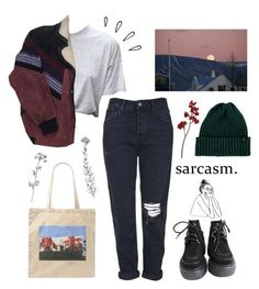 """73"" by ourijimin ❤ liked on Polyvore featuring Topshop, Marc Jacobs, Brixton and Old Navy"