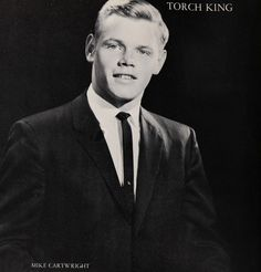 """The 1963 Torch King - Mike Cartwright - in the """"Torch"""" yearbook of Catalina High School in Tucson, Arizona.  #Catalina #Tucson #Arizona #yearbook #1963 #TorchKing"""