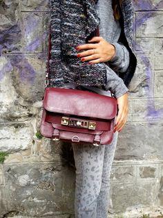 burgundy bag :: #PS11 by @Alex Jones Bel Schouler