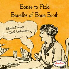 MaMa Jean's chef Geoff Underwood teaches about the benefits and how you can make your own highly nutritional broth.