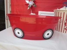 little red wagon Birthday Party Ideas   Photo 28 of 45   Catch My Party