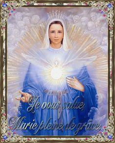 Holy Mary-Adriana creation http://annacatharina.centerblog.net/