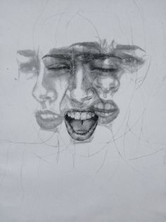 emotional faces art tumblr - Google Search