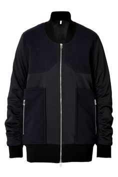 Bomber Jacket in Navy/Black from FAITH CONNEXION | Luxury fashion online | STYLEBOP.com