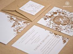 romantic wedding invitation. προσκλητήριο γάμου, ΠΡΟΣΚΛΗΤΗΡΙΑ, Προσκλητήρια γάμου http://www.atelier-invitations.gr