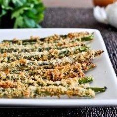 yumm. crispy, parmesan asparagus sticks.