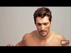 David Gandy's 15-Minute Home Workout - I could watch him work out ALL day!