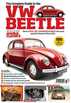 The Complete Guide to the VW Beetle is brought to you by Practical Classics and contains 100 pages of pure Beetle celebration.    Inside there's never-before-seen images, a modified Beetles shootout, in-depth service and resto guides, a flat-four engine rebuild; plus buying guides, head to heads, driving features and much more!    You'll find all you need to buy, fix, upgrade and enjoy the most popular classic in the world...