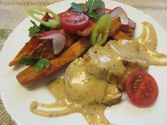 Meat Recipes, Pork, Chicken, Dinner, Kale Stir Fry, Dining, Food Dinners, Pork Chops, Cubs