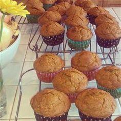 Easy Pumpkin Muffins Allrecipes.com