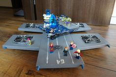 Hand made Shield Helicarrier.