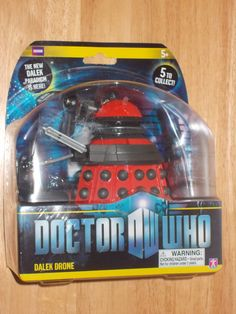 Doctor Who Dalek Paradigm Action Figure: Drone (Red)