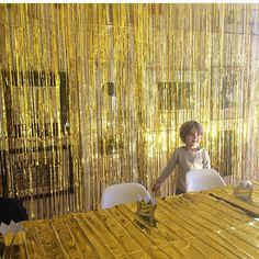 Golden birthday party