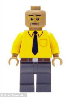 #BreakingBad Drug boss Gustavo Fring Lego guy???
