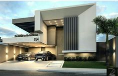 Home Decoration Stores Near Me Code: 7037611228 Bungalow House Design, House Front Design, Modern House Design, Villa Design, Facade Design, Exterior Design, Amazing Architecture, Architecture Design, Dream House Exterior