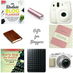 Whether you're buying for a blogging beginner or a pro blogger, there are some Christmas Gift ideas in here to suit all budgets - with gadgets, cameras, books and planners