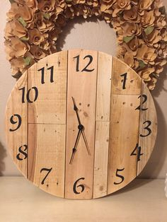 """Excited to share the latest addition to my #etsy shop: 18"""" Wall clock #clock #christmas #wallartclocks"""