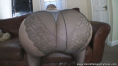 big ass in French cut pantyhose tights and heels - Daniella IN Pantyhose Videos