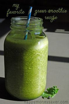 Ultimate Green Smoothie Recipe Source: Happy Money Saver