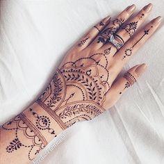 30 Most Popular Mehndi Tattoo Designs