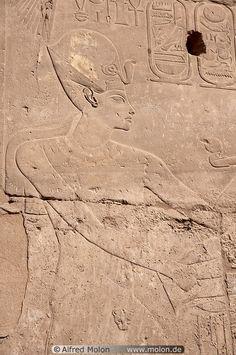 Bas-relief Luxor Egypt