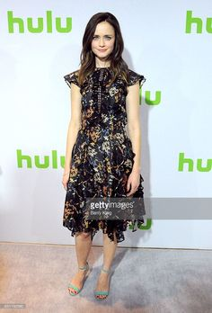 News Photo : Actress Alexis Bledel attends the 2017 Winter TCA...