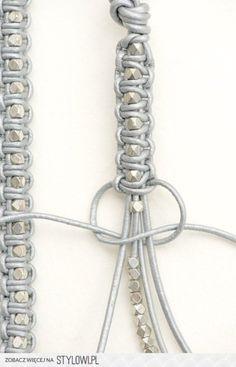 armband kraal en macrame knutselen met kinderen