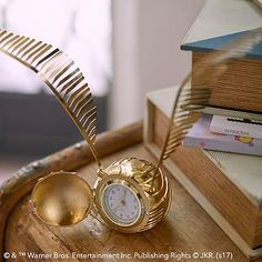 HARRY POTTER™ GOLDEN SNITCH™ Clock #pbteen