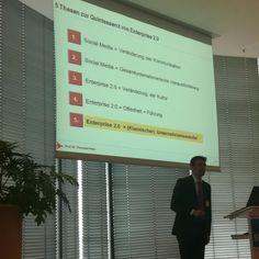 @SThielke tataa: Die 5 Thesen zur Quintessenz von Enterprise 2.0 #ioms12 :) ^bg  1. Social Media verändert Kommunikation  2. SM = Gesamtunternehmerische Herausforderung 3. E20 = Veränderung der Kultur 4. E20 = Offenheit und Führung 5. E20 = (klassischer) Unternehmenswandel