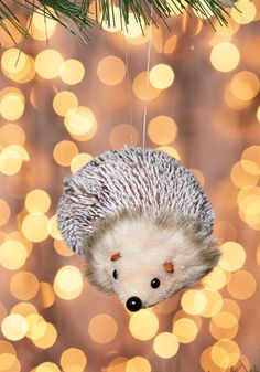 Trim the Ledge Hedgehog Ornament. Bring the wonder of woodland creatures to your mantle with one of these uber-adorable hedgehog ornaments! Pinecone Ornaments, Christmas Ornaments, Vintage Decor, Retro Vintage, Indie Outfits, Woodland Creatures, Modcloth, Home Gifts, Decorative Accessories