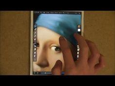 iPad Artist Seikou Yamaoka Recreates 'Girl With A Pearl Earring' (PHOTO, VIDEO)