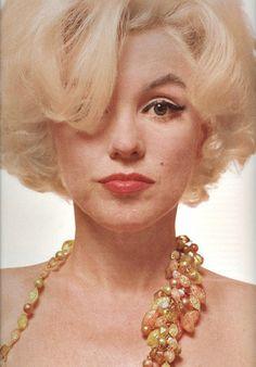 Marilyn Monroe photographer by Bert Stern, 1962.