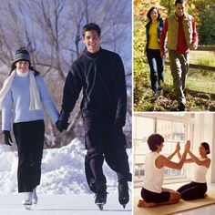 Fitness Dates For Couples - keep from gaining weight while in a relationship!
