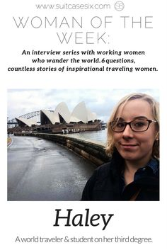This world traveler shares how she's balanced getting three degrees with exploring the globe in this Suitcase Six WOW interview. | Woman of the Week | Suitcase Six