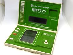 80s Retro Bandai LCD Handheld Game Hikyo Amazon (AMAZONE) MIJ Good Condition #Bandai Game & Watch, Panel, Solar Power, Nintendo Consoles, Conditioner, Ebay, Amazon, Instagram, Bandai