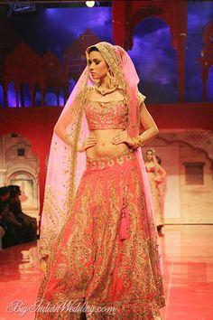 Suneet Varma designer bridal lehenga
