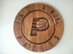 Indiana Pacers engraved wall art / custom by FamilyLoveEngraving