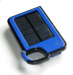 Tmalltide Solar Charger Power Bank Portable Rugged Shockproof USB Solar Power Charger Backup External Battery Power Pack for Emergency Charging For iPhone Galaxy Note  Nexus HTC and More Blue *** Want to know more, click on the image.