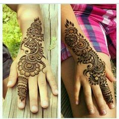 Simple yet elegant. Totally amazing henna patterns or Mehndi beauty then Click Visit link above for more options Pretty Henna Designs, Hena Designs, Mehndi Designs For Kids, Mehndi Design Pictures, Beautiful Mehndi Design, Best Mehndi Designs, Simple Mehndi Designs, Henna Tattoo Designs, Mehandi Designs