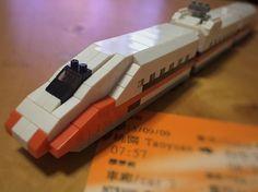 🚄💺 台灣高鐵 下一站會在哪兒  #nanoblock #train #高鐵 #taiwan #instacute #brick
