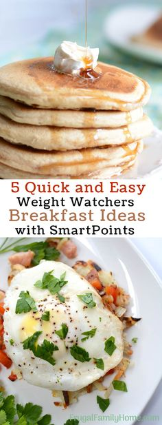 If you are following the Weight Watchers plan, but need some new breakfast ideas, you will want to check out these recipes!